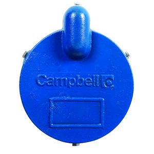 Campbell  Cast Iron  Well Cap