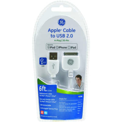 GE  iPod Cable  1 pk