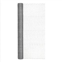 Garden Craft  48 in. H x 50 ft. L 20 Ga. Silver  Poultry Netting