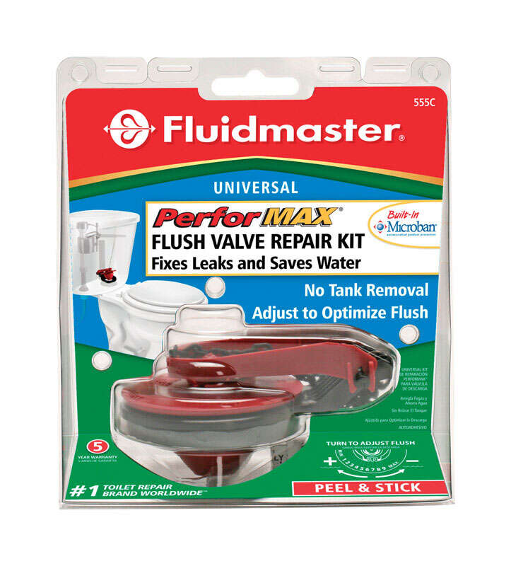 Fluidmaster  Performax  Flush Valve  5 in. H x 2 in. L Rubber