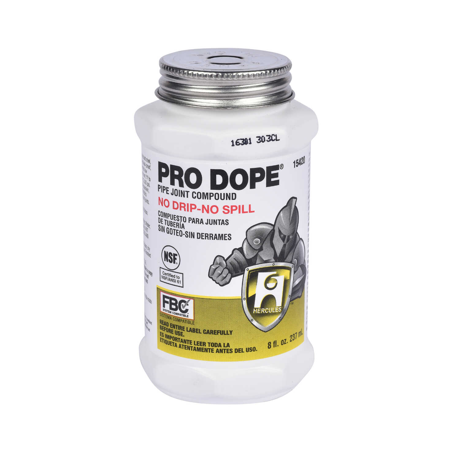 Hercules Pro Dope Gray Pipe Joint Compound 8 oz  - Ace Hardware