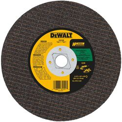 DeWalt High Performance 6-1/2 in. Dia. x 5/8 in. Silicon Carbide Masonry Cutting Saw Blade 1 pc