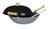 Joyce Chen  Steel  Wok Set  14 in. Silver