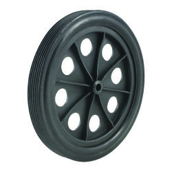 Apex  10 in. H x 1 in. W x 10 in. L Shopping Cart Wheel