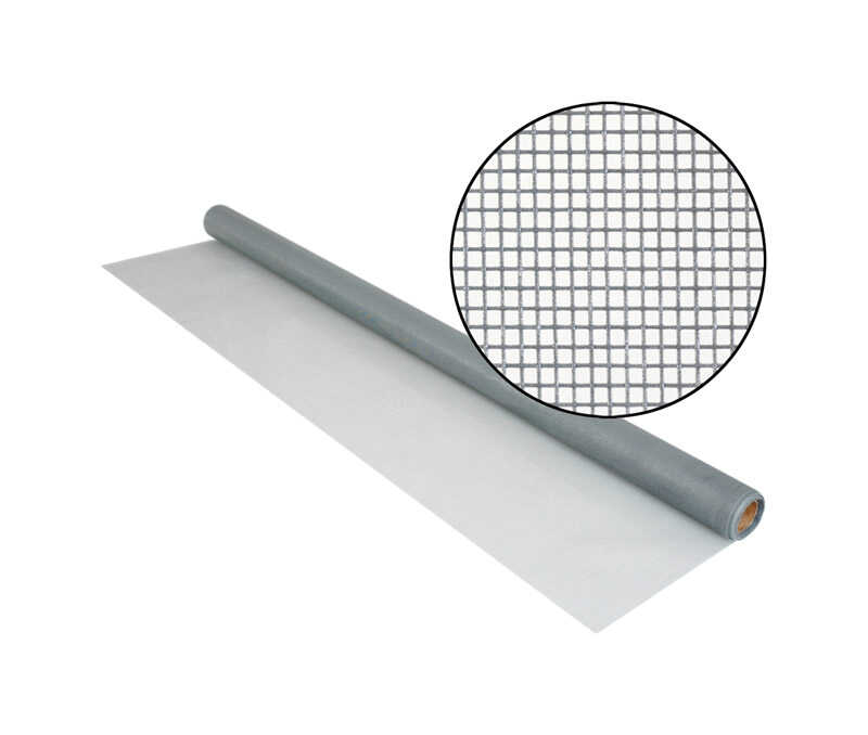 Phifer Wire  24 in. W x 7 ft. L Gray  Fiberglass  Screen Cloth