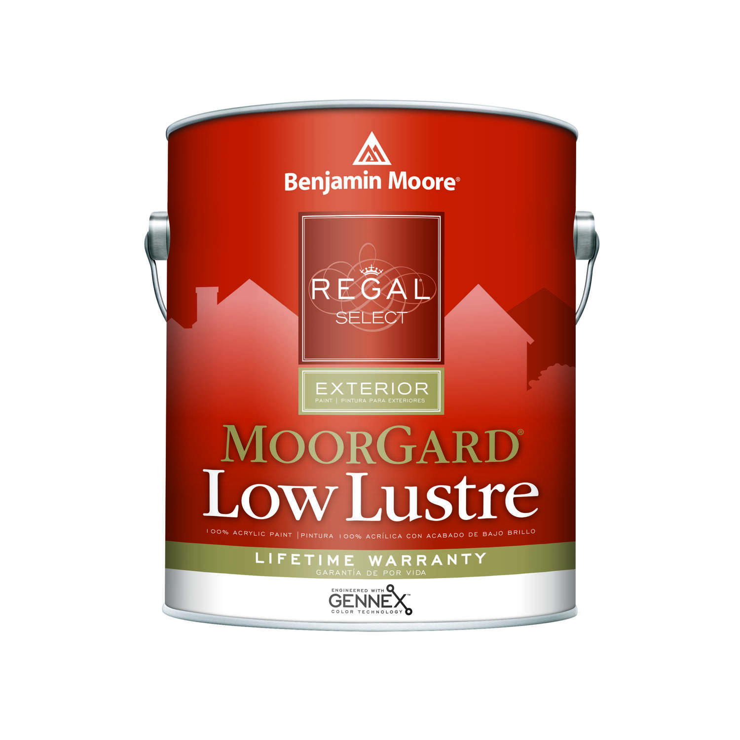 Benjamin Moore  Regal  Low Luster  Tintable Base  Base 1  Acrylic  Paint  Outdoor  1 gal.