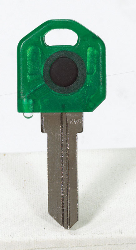 Giant Concepts LLC  Keylights  House  Key Blank w/Flashlight  KW1  Single sided For Fits Kwikset KW1