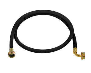 Ultra Dynamic Products  3/8 in. Dia. x 6 ft. L Rubber  Washing Machine Hose