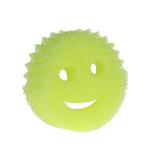 Scrub Daddy  Lemon Fresh  Scratch Free Sponge  For All Purpose 1 pk