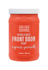 Modern Masters  Cheerful  Front Door Paint  1 qt. Satin