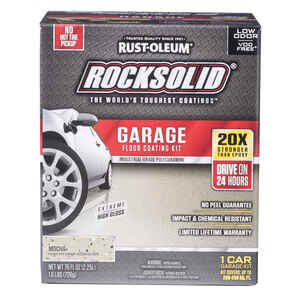 Rust-Oleum  RockSolid  Mocha  Garage Floor Coating Kit  76 oz.