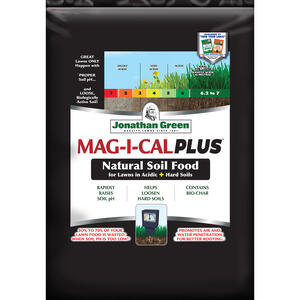 Jonathan Green  Mag-I-Cal Plus for Acidic Soils  Organic Lawn Fertilizer  For All Grass Types 54 lb.