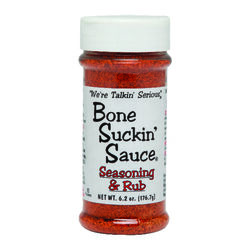 Bone Suckin' Sauce  Meat & Rib  Seasoning Rub  6.2 oz.