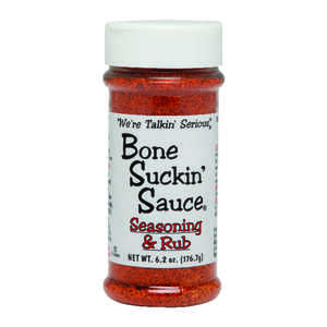 Bone Suckin' Sauce  Meat and Rib Rub  Seasoning Rub  6.2 oz.