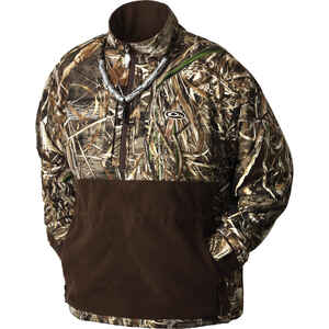 Drake  MST Eqwader  XXL  Long Sleeve  Men's  Quarter Zip  Jacket  Realtree Max-5