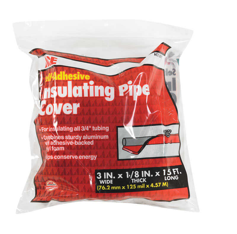 Ace  3 in. Pipe Insulation  15 ft. L