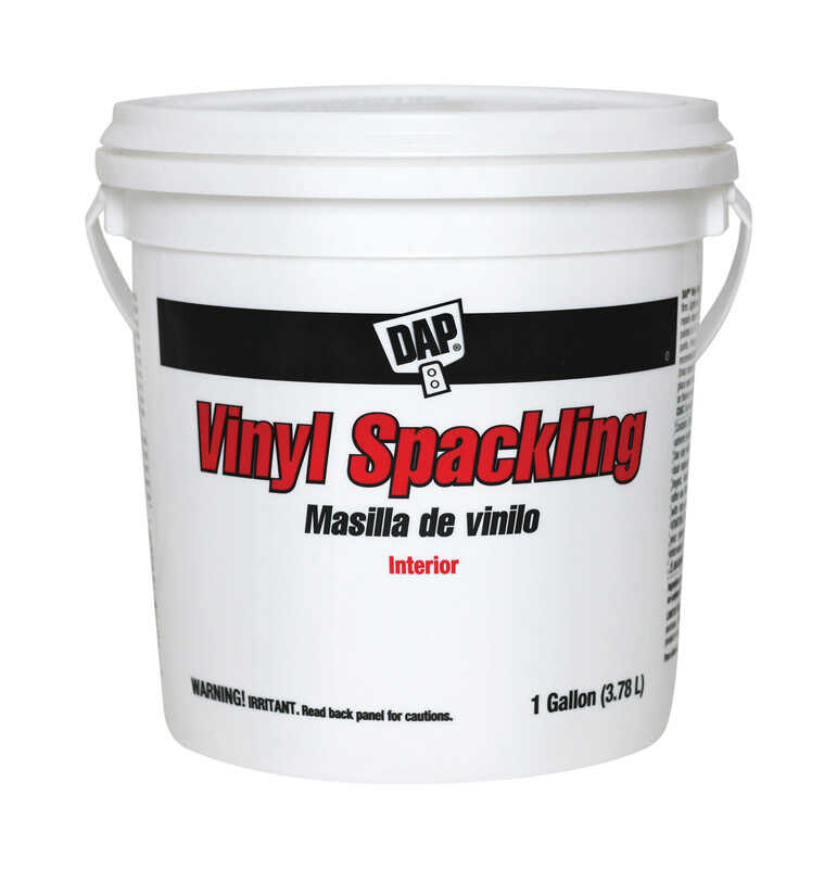 DAP  Vinyl  Ready to Use White  Spackling Compound  1 gal.