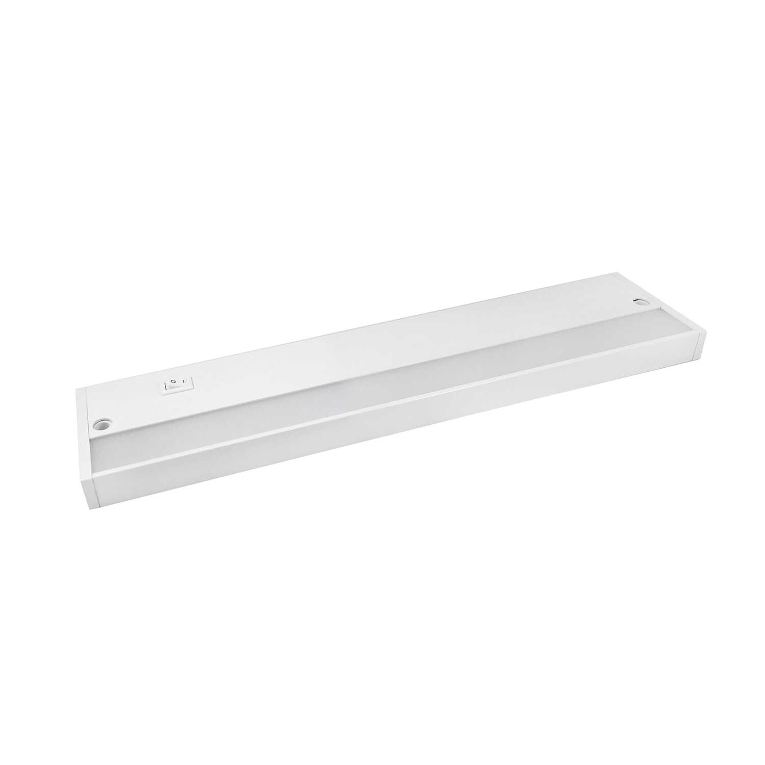 Amertac  16 in. L White  LED  Under Cabinet Light Strip  500  Plug-In