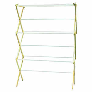 Madison Mill  29.5 in. W x 42.5 in. H x 14 in. D Wood  Clothes Drying Rack