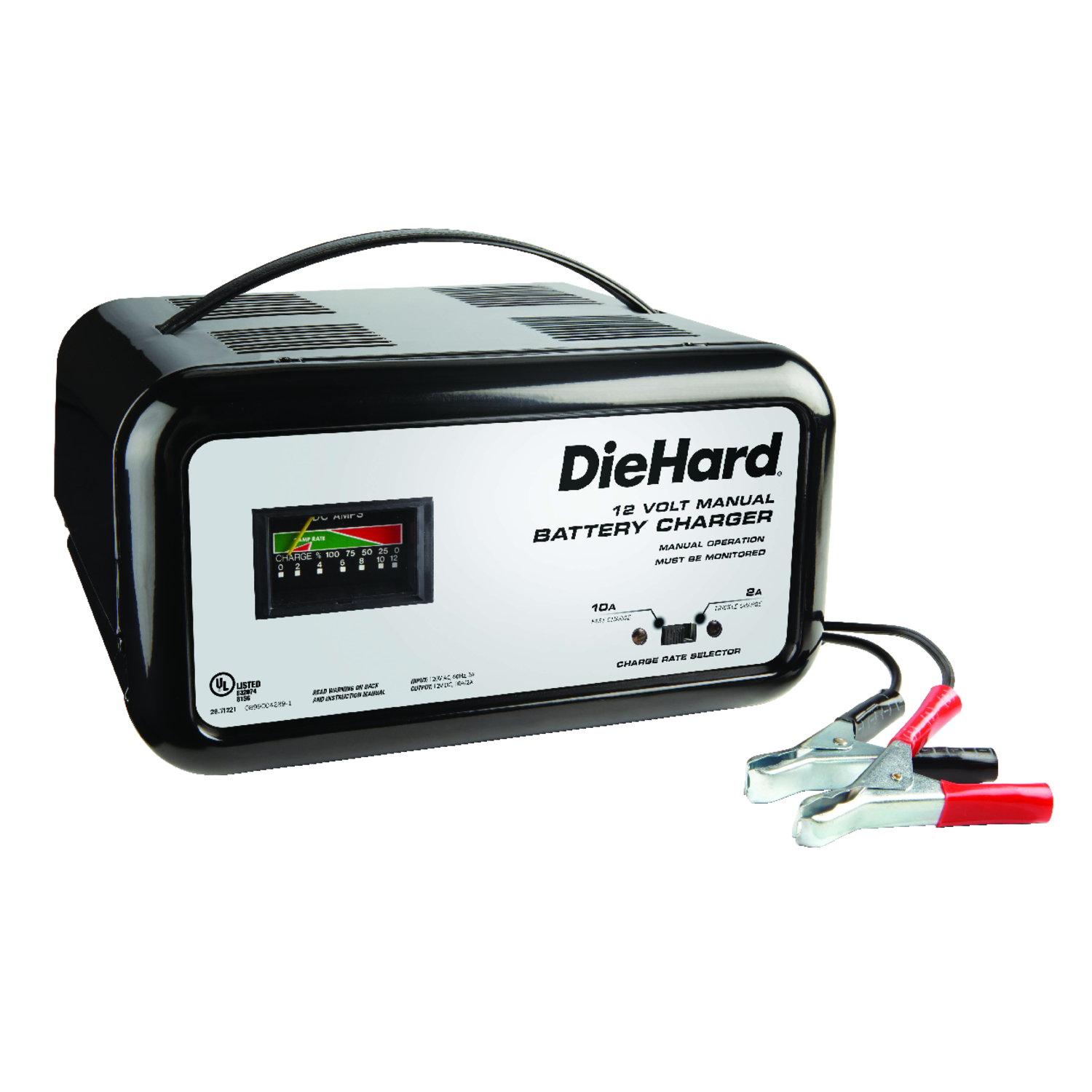 Sears Diehard Battery Charger 71222 Wiring Diagram Automatic 12 Volts 10 Amps Ace Hardware Rh Acehardware Com