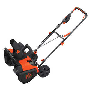 Black and Decker  40V Max  21 in. W Single-Stage  Electric Start  Battery Powered  Brushless Snow Th