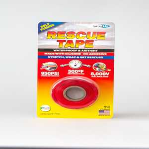 Rescue Tape  1 in. W x 12 ft. L Silicone Tape  6 oz. Red