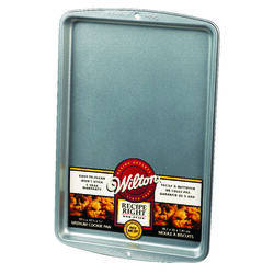 Wilton 10-1/4 in. W x 15-1/4 in. L Cookie Sheet Silver