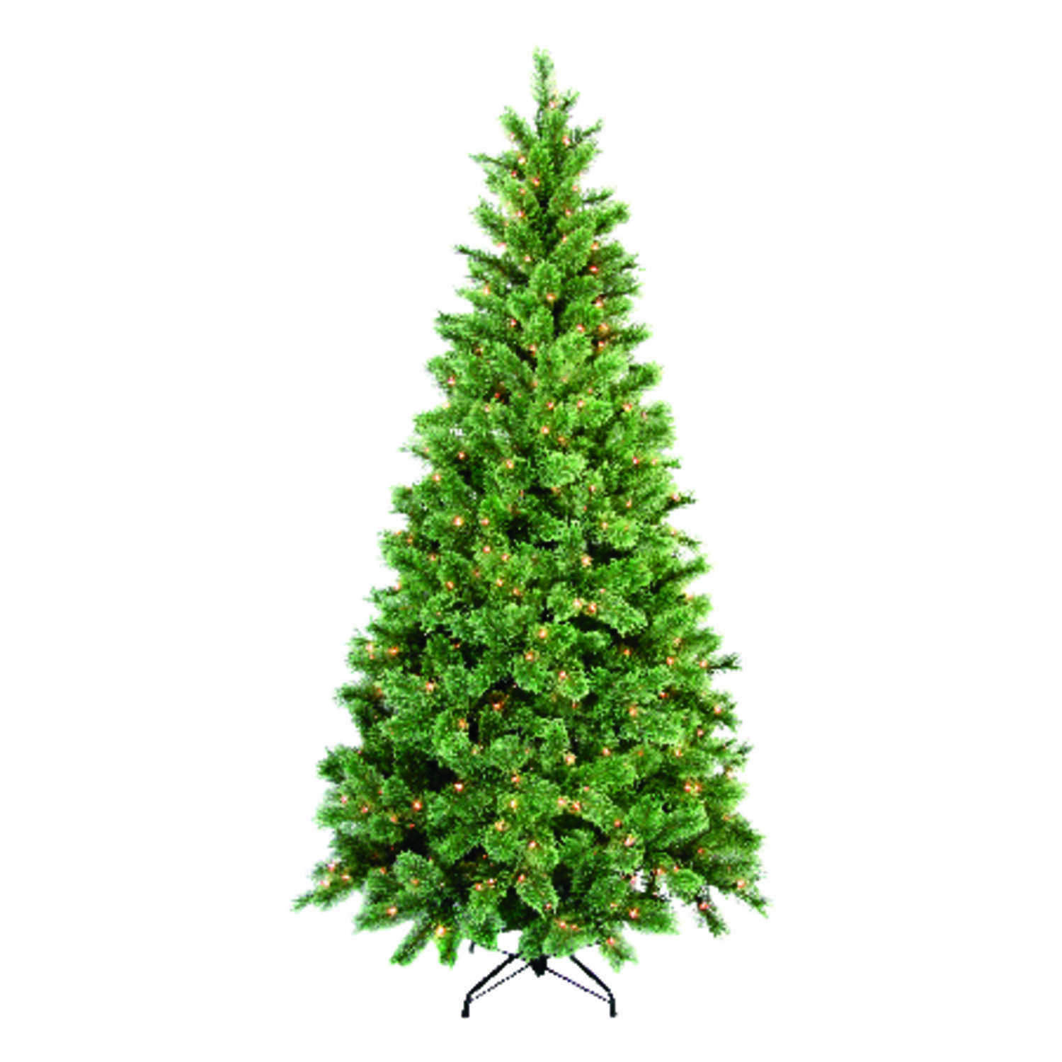 Greenfields  Multicolored  Prelit 7-1/2 ft. Cashmere  Artificial Tree  400 lights 812 tips