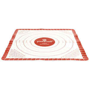 Pizzacraft  20 in. L x 20 in. Dia. Silicone  Rolling Mat  Multicolored