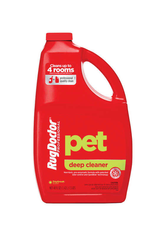 Rug Doctor  Pet Deep  Daybreak Scent Carpet Cleaner  48 oz. Liquid  Concentrated
