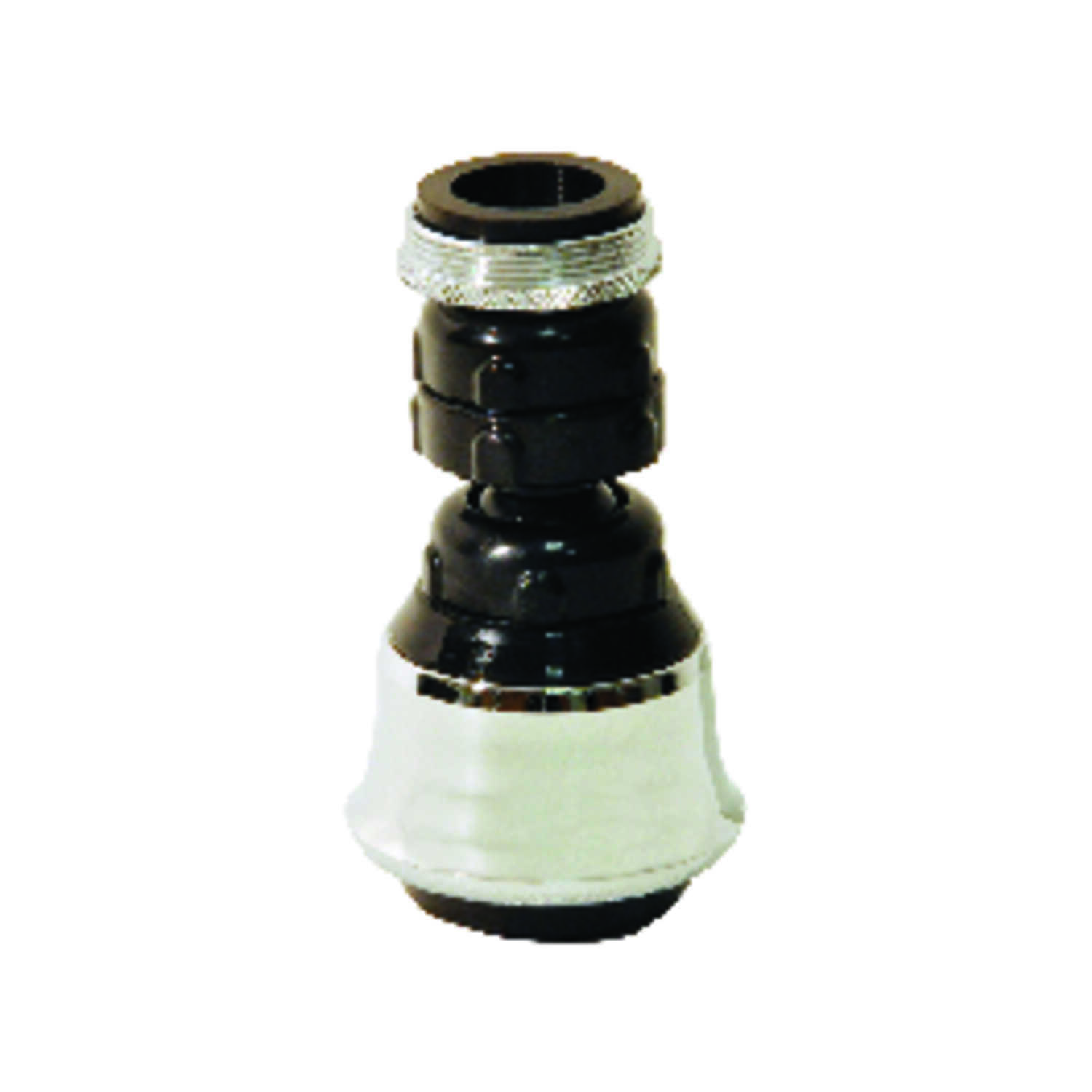 Danco  Swivel Sprayrator  15/16 in.  x 55/64 in.  Chrome