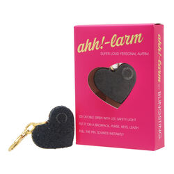 Blingsting Ahh!-Larm Black Plastic Personal Security Alarm