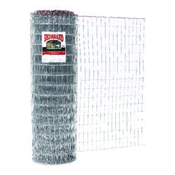 Red Brand  Square Deal  60 in. H x 100 ft. L Steel  Horse  Fence  Silver