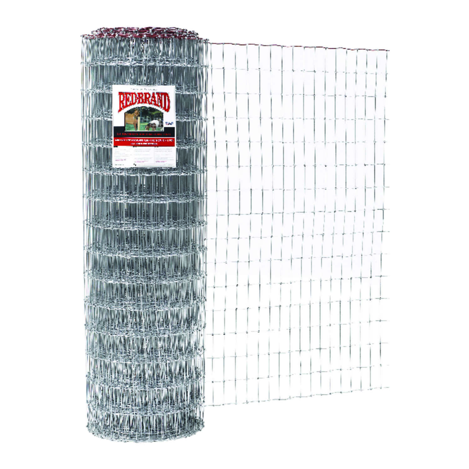 Red Brand  Square Deal  60 in. H x 100 ft. L Steel  Horse Fence