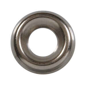 Hillman  Nickel-Plated  Steel  .164 in. Countersunk Finish Washer  100 pk