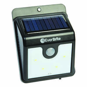 Ever Brite  As Seen on TV  Solar-Powered  black  Security Light