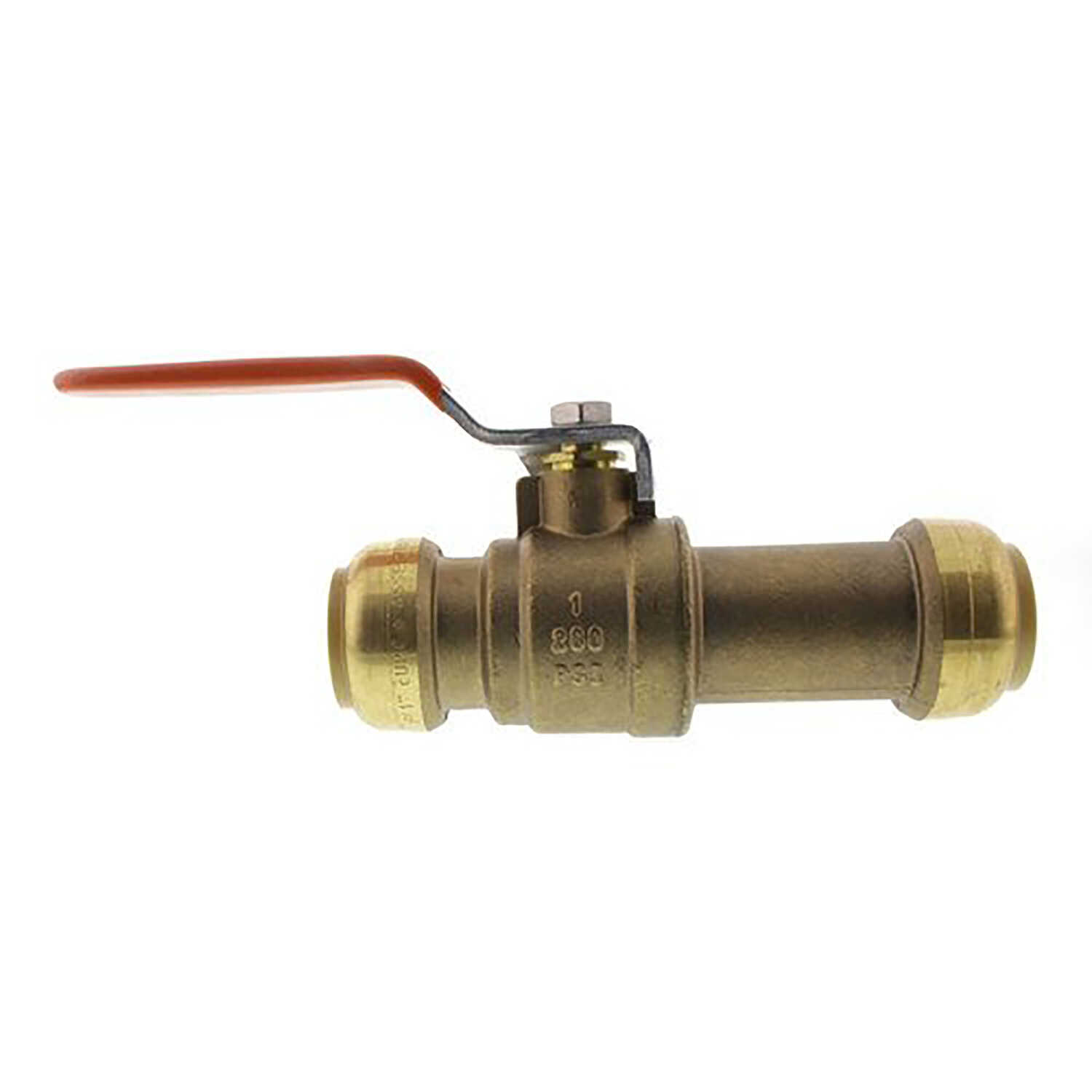 SharkBite  1  Brass  Push-to-Connect  Ball Valve