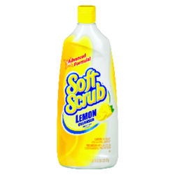 Soft Scrub  Lemon Scent Heavy Duty Cleaner  24 oz. Cream