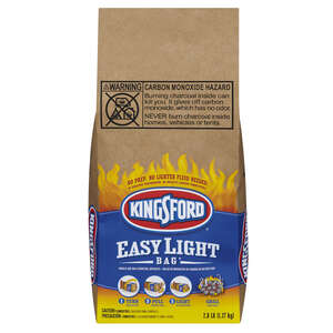 Kingsford  Easy Light Bag  Original  2.8  Charcoal Briquettes