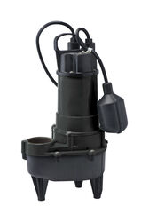 Eco-Flo  1/2 hp 5,700 gph Cast Iron  Sewage Pump