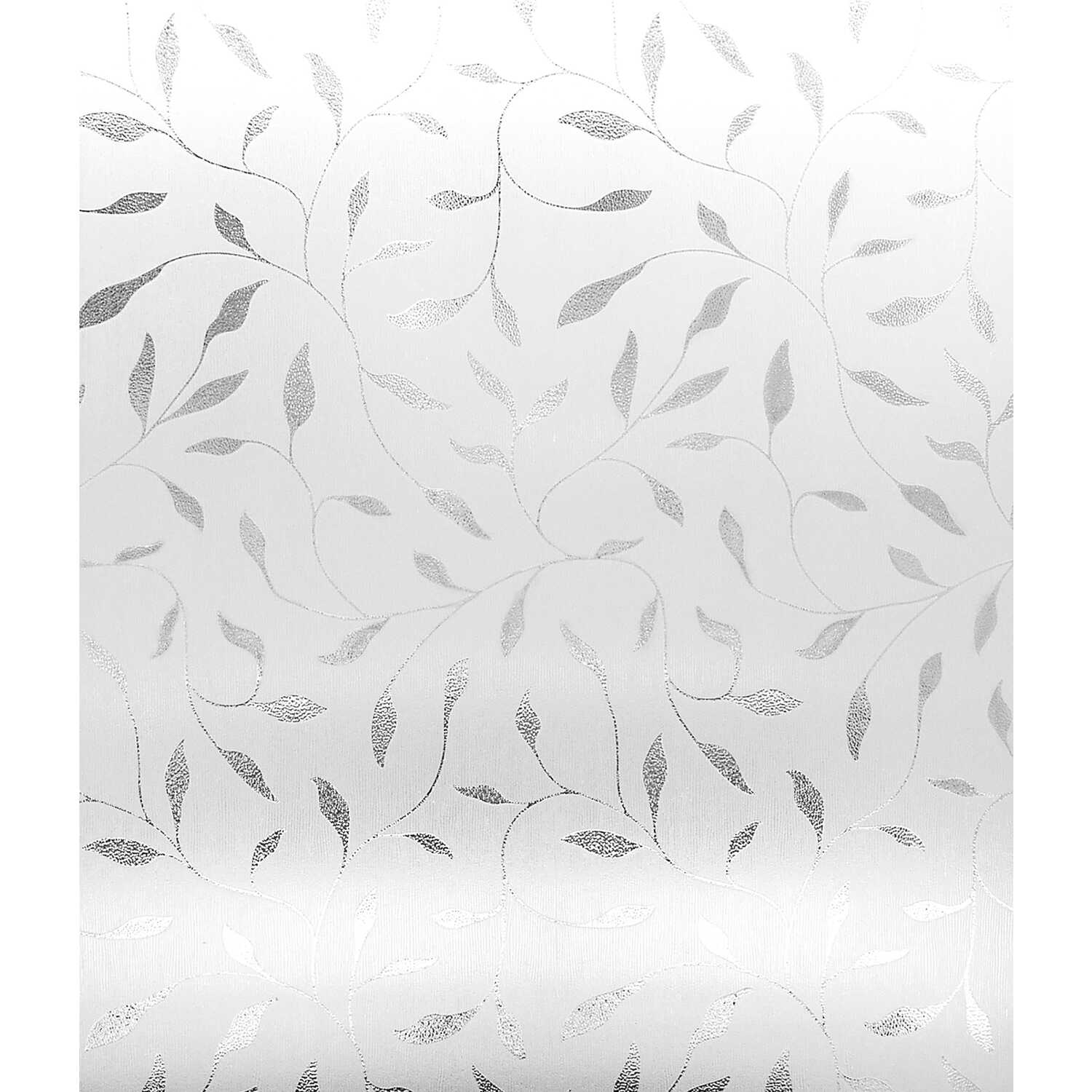 Artscape  Etched Leaf  Indoor  Window Film  24 in. W x 36 in. L