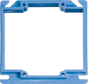Carlon  Square  PVC  2 gang Box Cover  For Use with 1/2 in. Dry Wall