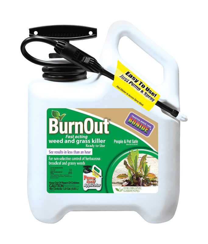 Bonide  RTU Liquid  Organic Weed and Grass Killer  1.33 gal.