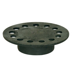 Sioux Chief  6-3/4 in. Weathered  Cast Iron  Round  Floor Drain Strainer