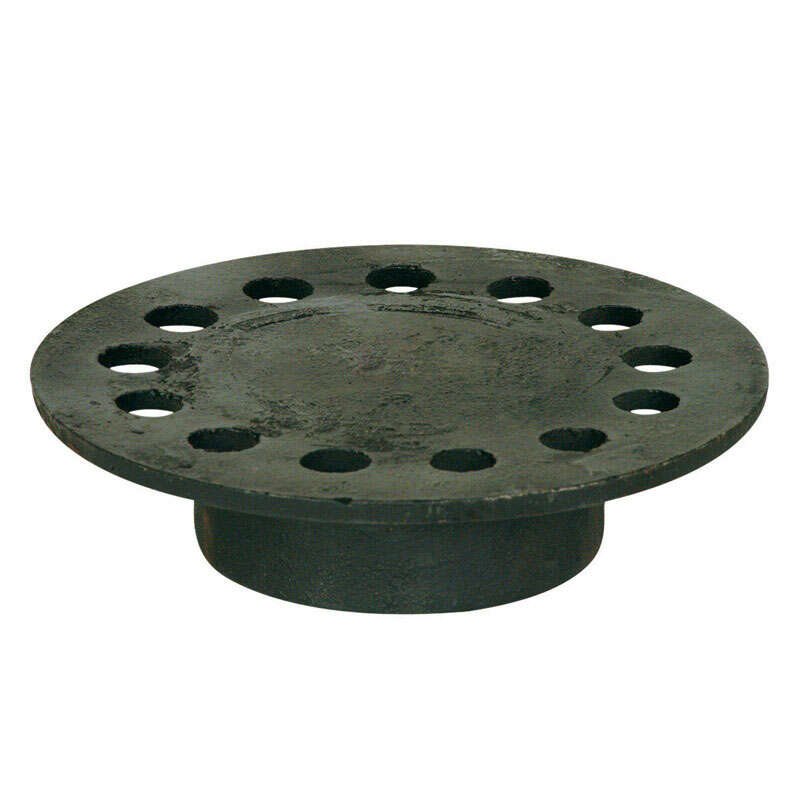 Sioux Chief  6-3/4 in. Weathered  Round  Cast Iron  Floor Drain Strainer