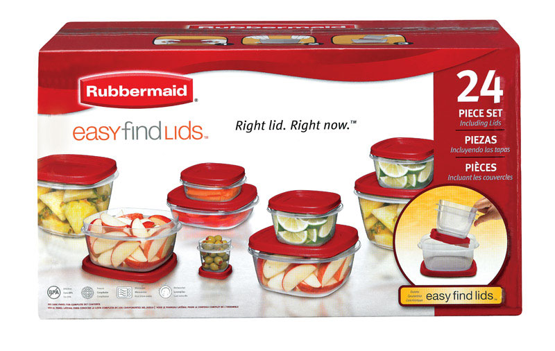 Rubbermaid Food Storage Container Set Assorted  sc 1 st  Ace Hardware & Rubbermaid Food Storage Container Set Assorted - Ace Hardware