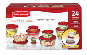 Rubbermaid  Food Storage Container Set  Assorted
