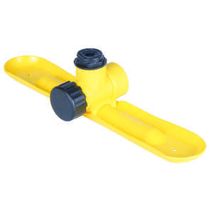 ACE  Plastic  Non-tipping Base  Stationary Sprinkler  625 sq. ft.