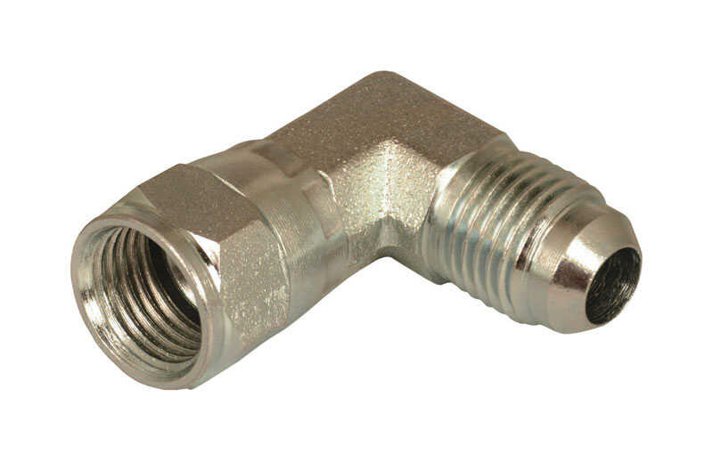 Apache  Steel  Hydraulic Adapter  3/8 in. Dia. x 3/8 in. Dia. 1