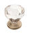 Amerock Traditional Classics Collection Cabinet Knob 1-1/4 in. Dia. 1-1/4 in. Satin Nickel 1 pk